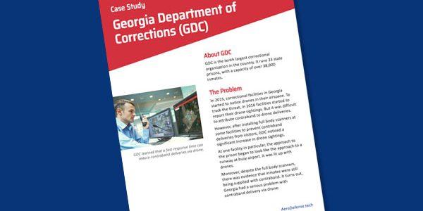 Case Study: Georgia Department of Corrections