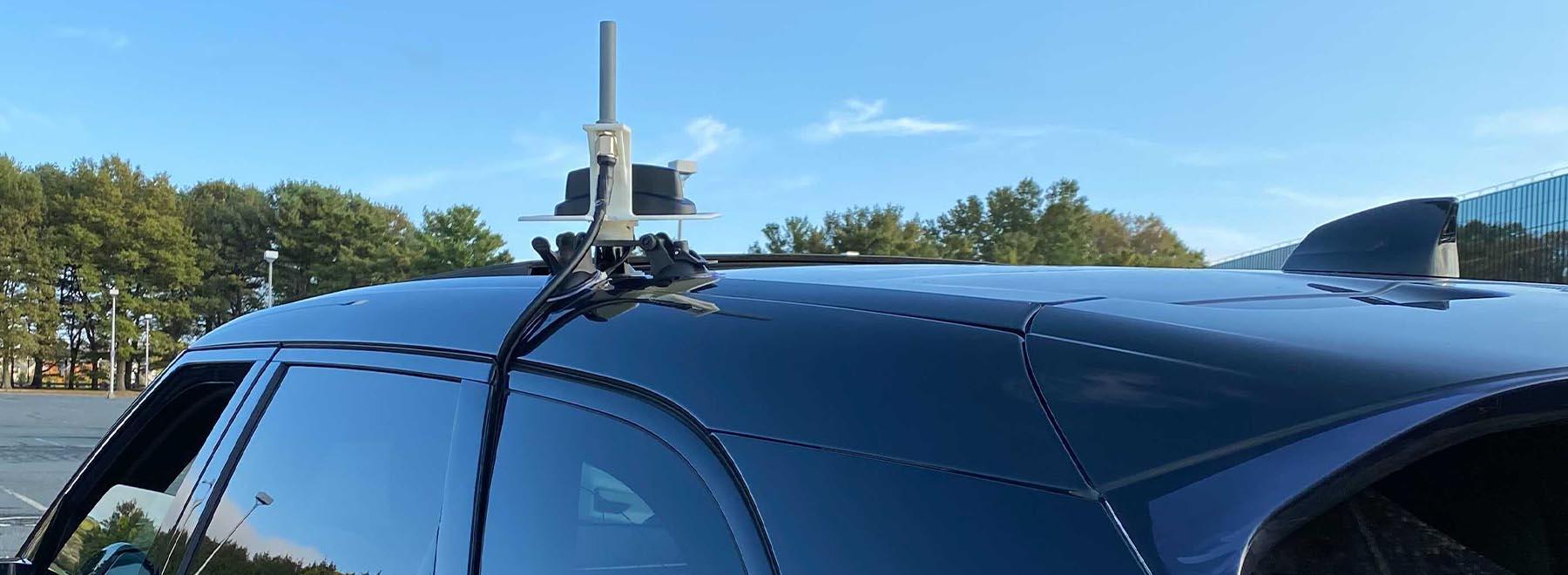 AirWarden Mobile Drone Detection - Antenna Mount