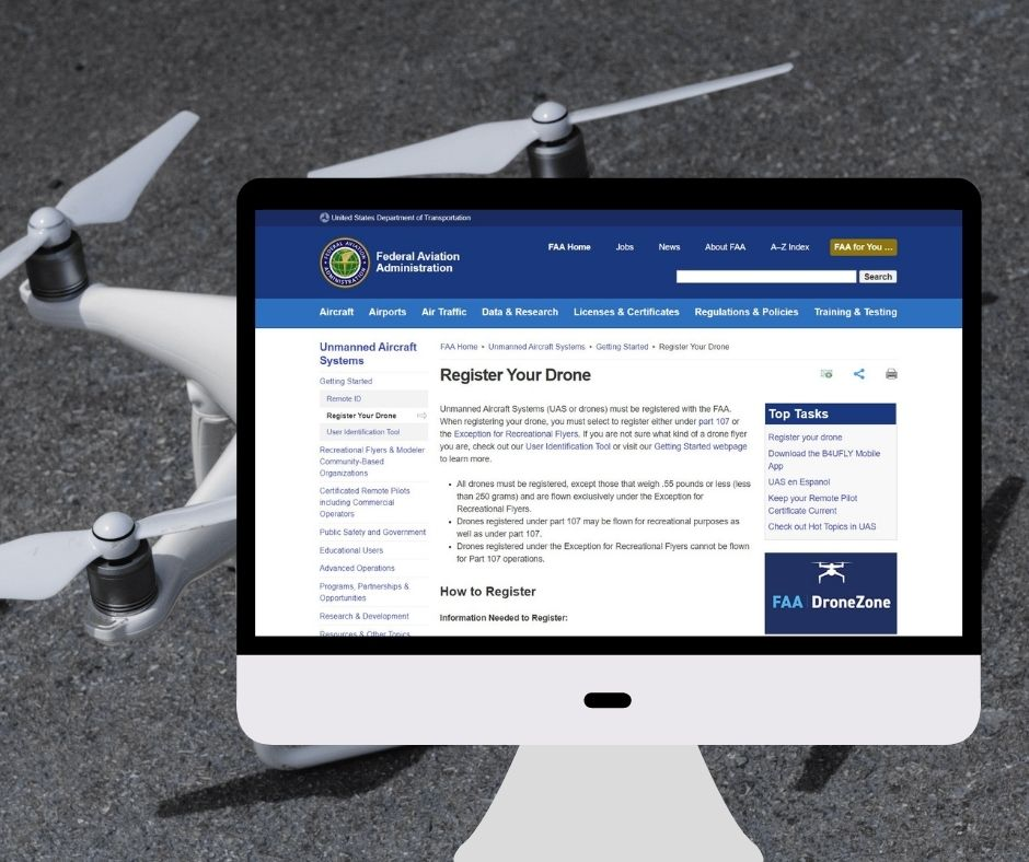 FAA Register Your Drone